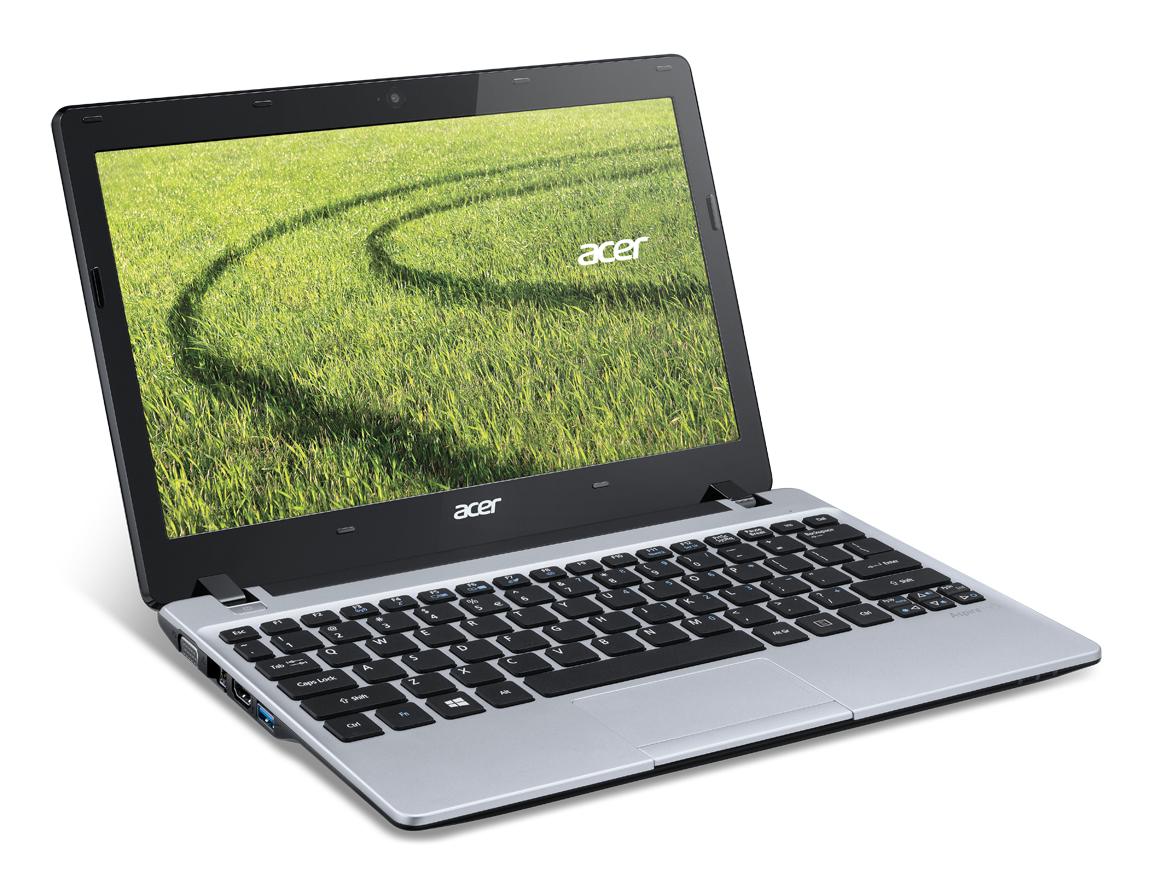 """Acer Aspire 123-12102G32nss 1GHz E1-2100 11.6"""" 1366 x 768Pixel Argento Computer portatile"""