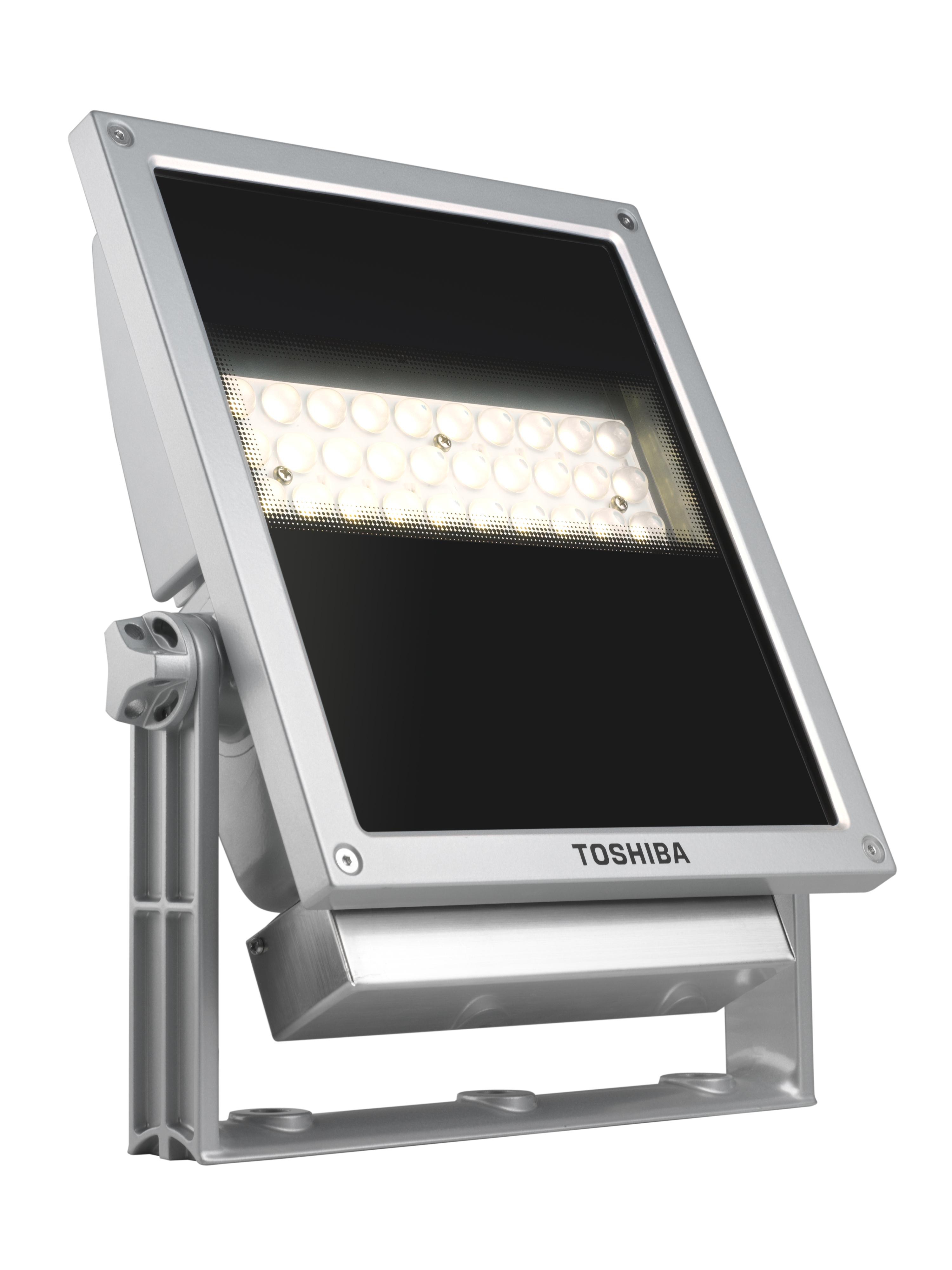 Toshiba LEDEUF00019I30 40W LED Argento proiettore