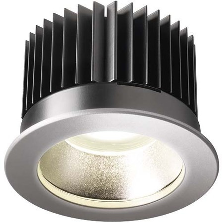Toshiba LEDEUD00009C Interno Recessed lighting spot Argento faretto di illuminazione