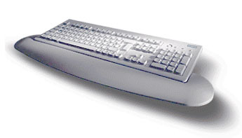 "Fujitsu KEYBOARD KBPC P2 """"UK"""" LB PS/2 QWERTY Inglese tastiera"