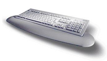 """Fujitsu KEYBOARD KBPC P2 EU """"""""GR L"""""""" LB PS/2 QWERTY Greco tastiera"""
