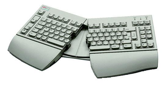 "Fujitsu KEYBOARD ERGO """"DAN"""" LB RF Wireless tastiera"