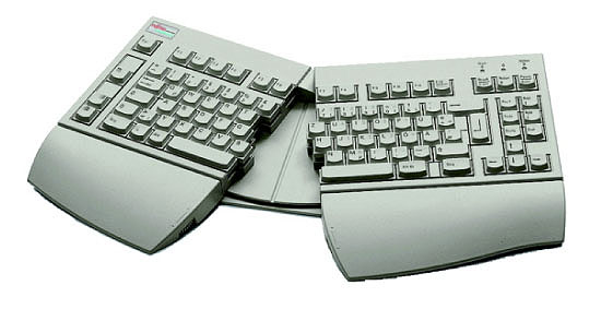 "Fujitsu KEYBOARD KBPC E """"UK"""" ERGO PS/2 tastiera"