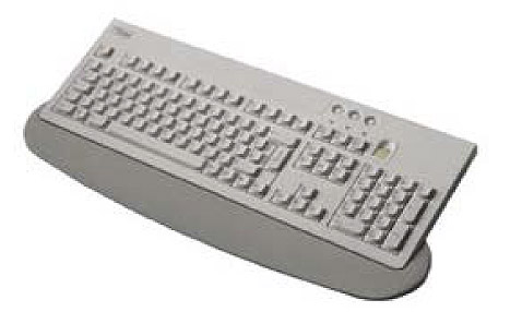 "Fujitsu KEYBOARD KBPC ID """"B"""" USB Grigio tastiera"