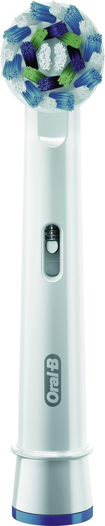Braun CrossAction 4pezzo(i) Bianco testina per spazzolino