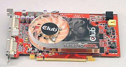 CLUB3D VGA CLUB-3D PCI-e 256Mb ATI X800XL GDDR3