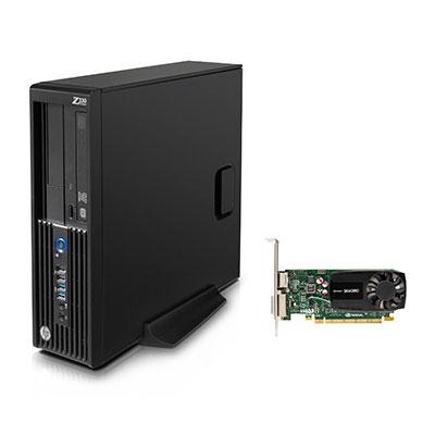 HP Z230 Small Form Factor Workstation Bundle