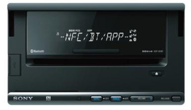 Sony XSP-N1BT Bluetooth Nero autoradio
