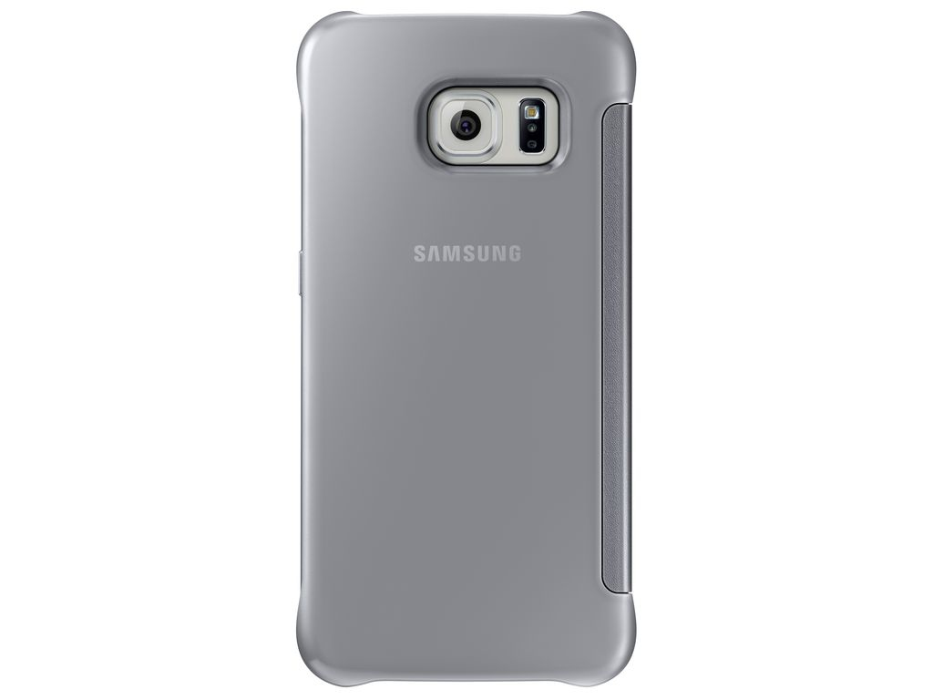 Samsung Clear View Cover Cover Argento