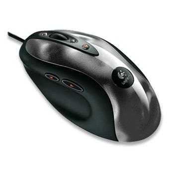 Logitech MXT518 Gaming-GradeT Optical Mouse USB+PS/2 Ottico 1600DPI mouse