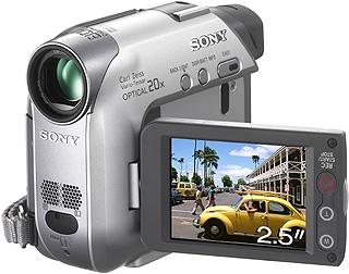 Sony Camcorder MiniDV DCR-HC22E 0.8MP CCD