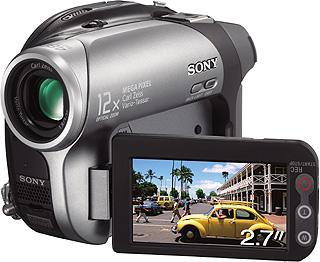 Sony Camcorder DCR-DVD203E 1.07MP