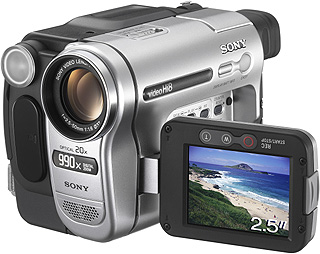 Sony Hi8 Handycam 0.38MP