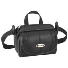 Targus Leather Convertible Hip/Shoulder Video Case Nero
