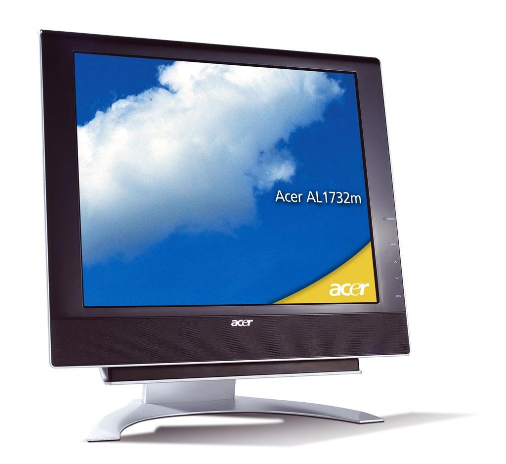 """Acer AL1732m 17"""" monitor piatto per PC"""