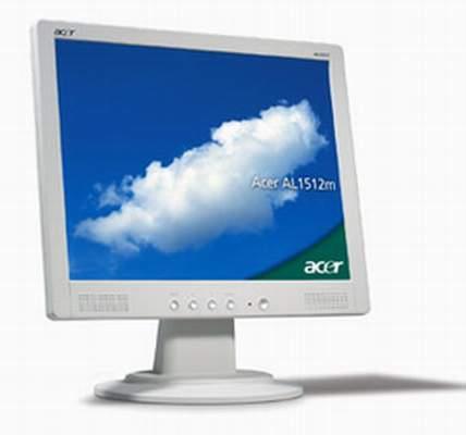 """Acer AL1512m 15"""" LCD monitor 15"""" monitor piatto per PC"""