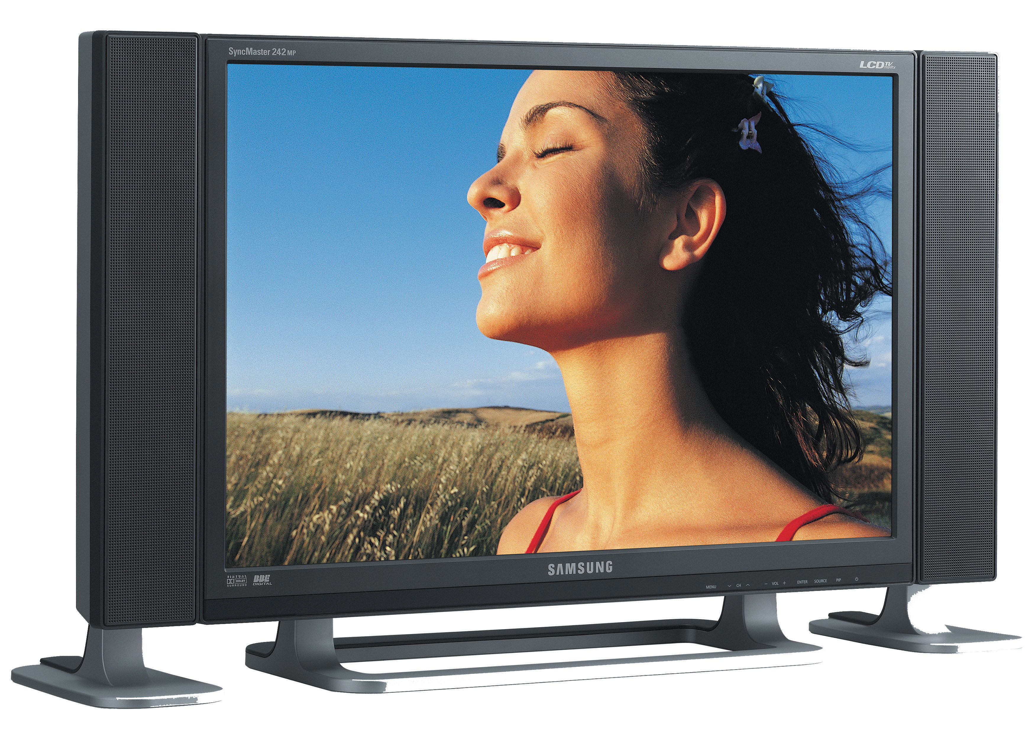"Samsung PO24FSSSS 24"" Full HD Argento TV LCD"