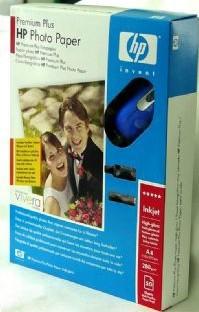 HP Premium Plus Photo Paper + Cordless Mouse carta fotografica