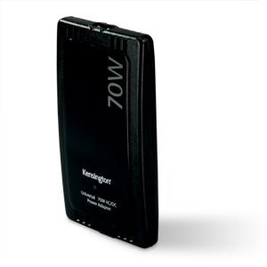Kensington Notebook 70W AC/DC Power Adapter Nero adattatore e invertitore