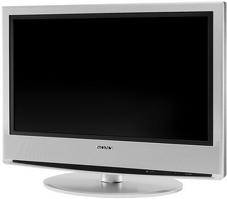 "Sony 26"" Bravia LCD-TV 26"" Argento TV LCD"
