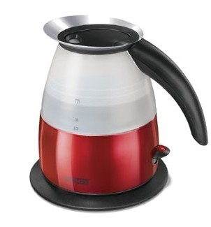 Princess Red Borgini Kettle LTD ED 1.5L 1.5L 2400W bollitore elettrico