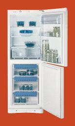 Indesit BAAN12 Libera installazione Bianco frigorifero con congelatore