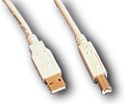 APC USB cable 1m A/B 0.91m Bianco cavo USB