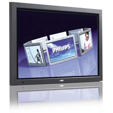 "Philips 46"" WVGA plasma monitor 46"" Antracite TV al plasma"