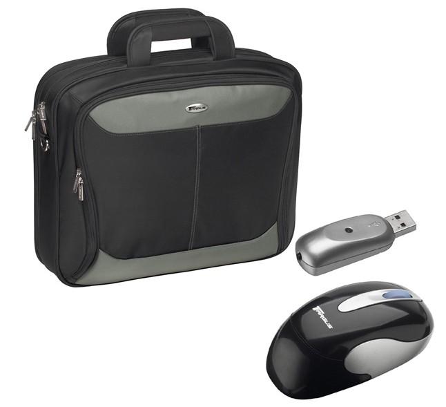"Targus XL Carry Case & Wireless Mouse, Bundle 17"""