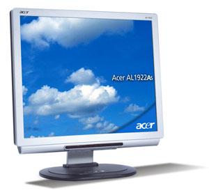 """Acer AL1922As 19"""" TFT TCO03 19"""" monitor piatto per PC"""