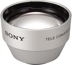 Sony VCL-2025S Videocamera Tele lens Argento obiettivo per fotocamera