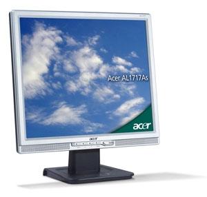 """Acer AL1717As 17"""" monitor piatto per PC"""