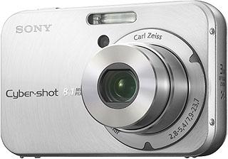 "Sony DSC-N1 Fotocamera compatta 8.1MP 1/1.8"" CCD 3264 x 2448Pixel Argento compact camera"