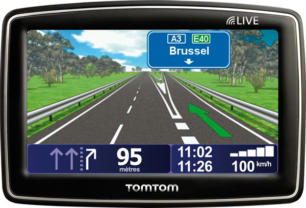 "TomTom XL LIVE EU 3m, BE Fisso 4.3"" Touch screen 186g Nero navigatore"