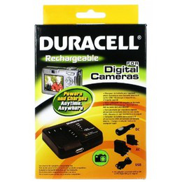Duracell Camera Battery Charger Nero