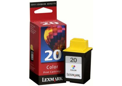 Lexmark 15M0120 Ciano, Giallo cartuccia d