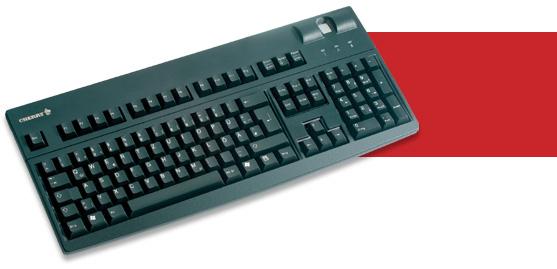 Cherry G83-14501 USB AZERTY Nero tastiera