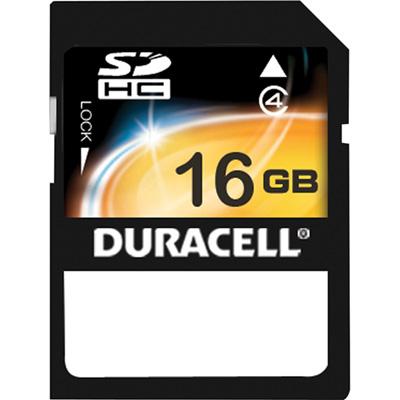 Duracell SDHC 16GB 16GB SDHC memoria flash