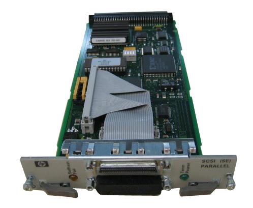 HP Single-ended SCSI-2/Centronics host adapter board scheda di interfaccia e adattatore