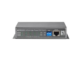 LevelOne FSW-0513 Supporto Power over Ethernet (PoE) Grigio