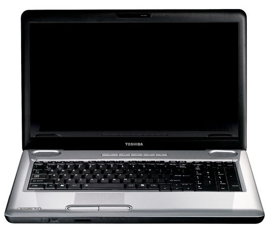 "Toshiba Satellite Pro L550-13D 2GHz T5870 17.3"" 1600 x 900Pixel Nero, Argento"