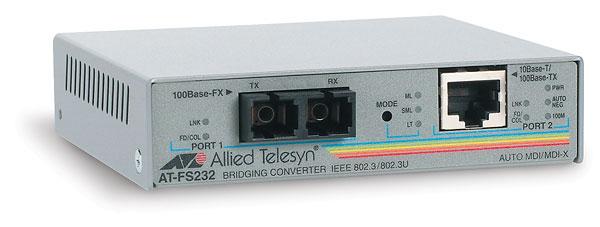 Allied Telesis AT-FS232/2-60 100Mbit/s convertitore multimediale di rete