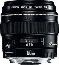 Canon EF 100mm f/2.0 USM Nero