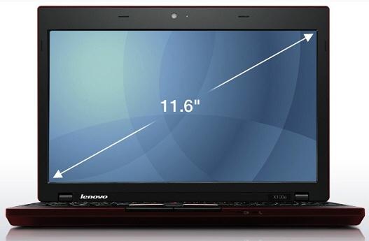 "Lenovo ThinkPad X100e 1.6GHz MV-40 11.6"" 1366 x 768Pixel 3G"