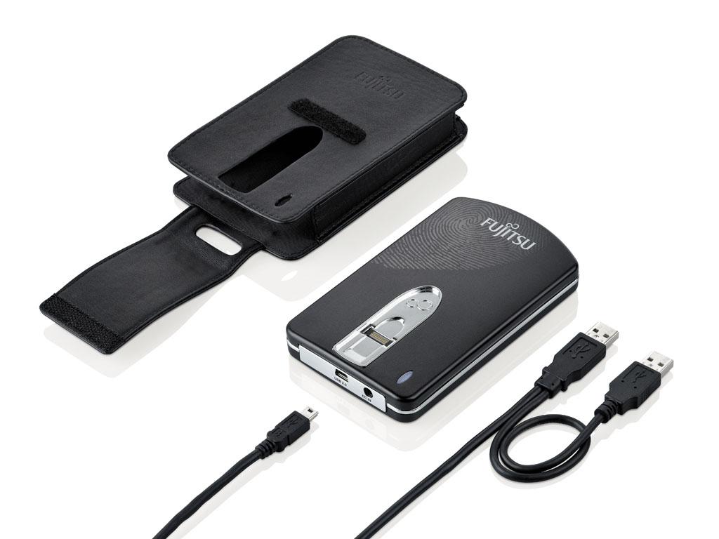 Fujitsu CELVIN Drive M500 500 GB 500GB Nero disco rigido esterno