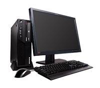 Lenovo ThinkCentre M58 + LENW22 3GHz E8400 SFF PC