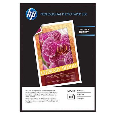 HP CG970A Lucida Nero, Blu, Rosa, Bianco carta inkjet