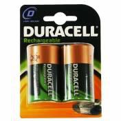 Duracell Rechargeable D Size 2 Pack Nichel-Metallo Idruro (NiMH) 2200mAh 1.2V batteria ricaricabile