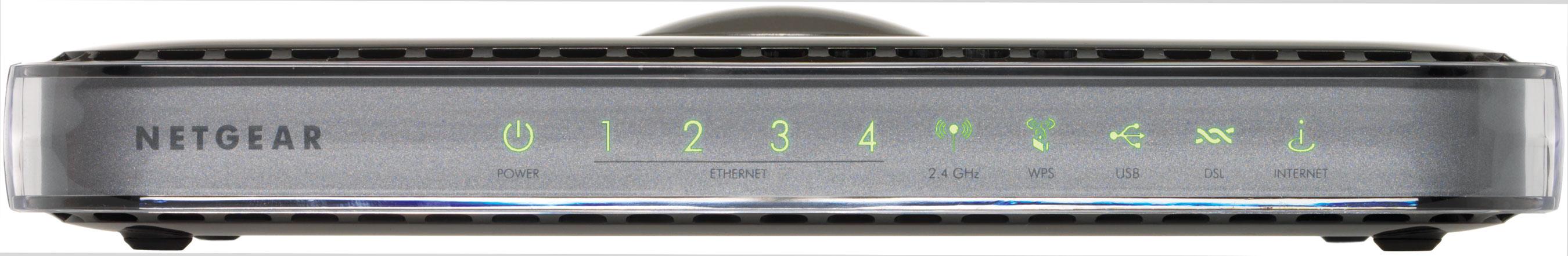Netgear DGN3500 Nero router wireless