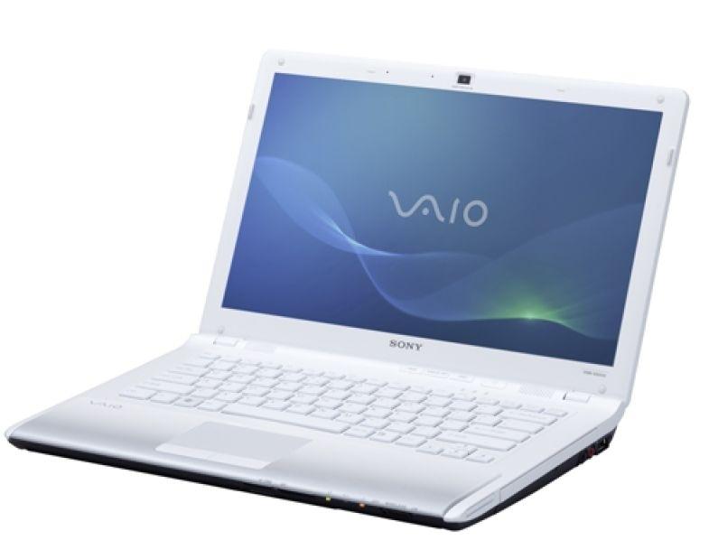 "Sony VAIO VPCCW2S1E/W 2.13GHz i3-330M 14"" 1366 x 768Pixel 3G Bianco notebook/portatile"